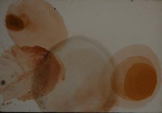 Čerče Ksenja abstraktna kompozicija III