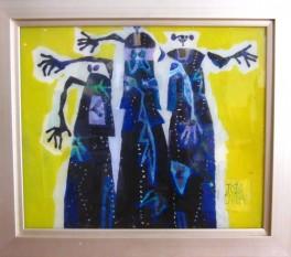 Ciuha Jože, »Tri Gracije«, akrilpleksisteklo, 49 x 59 cm, 5.500,00 €-001