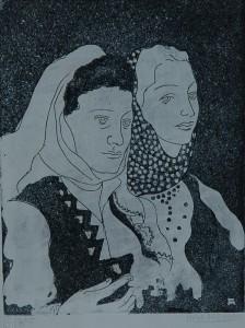 Maleš Miha Dvojni ženski portret - Makedonke
