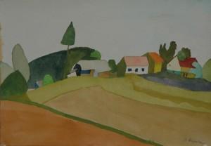 Rijavec Milan Hiša ob polju