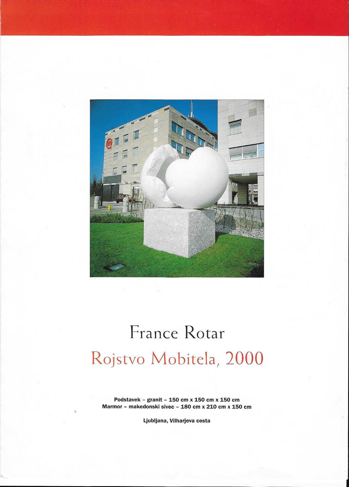 France Rotar Rojstvo Mobitela 2000