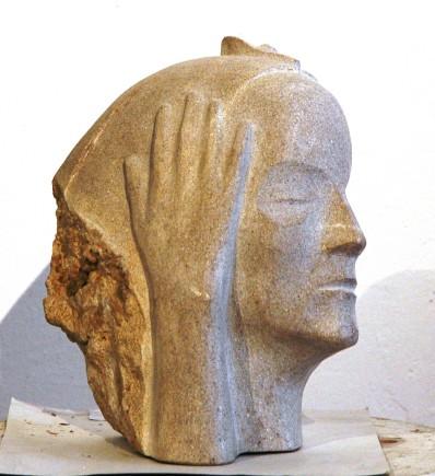 Černelč Franci Ženski obraz z roko