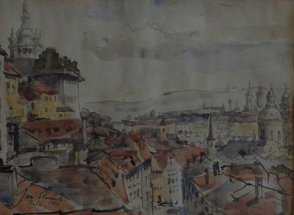 Slaviček Jan Praga
