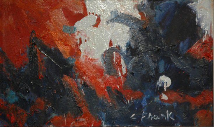 Frank Claudio abstrakcija II