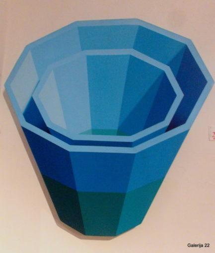 PATISSON JIM, ¸1998, akril, 80 × 80 cm