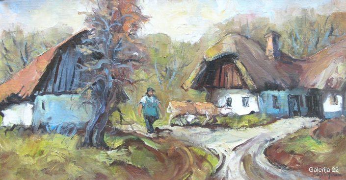 Katič, 40 × 75 cm
